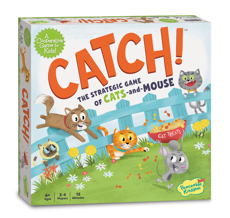 Catch! Strategic Game of Cats and Mouse!
