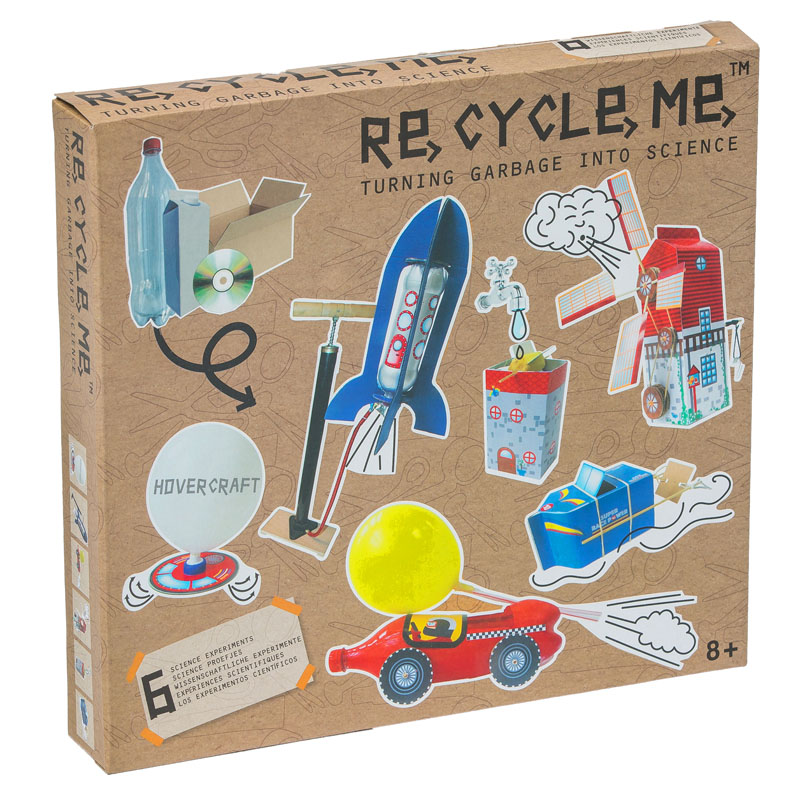 Re-Cycle-Me Turning Garbage into Science Box