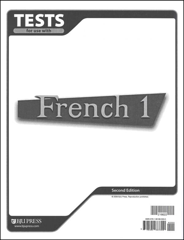 French 1 Tests 2ED