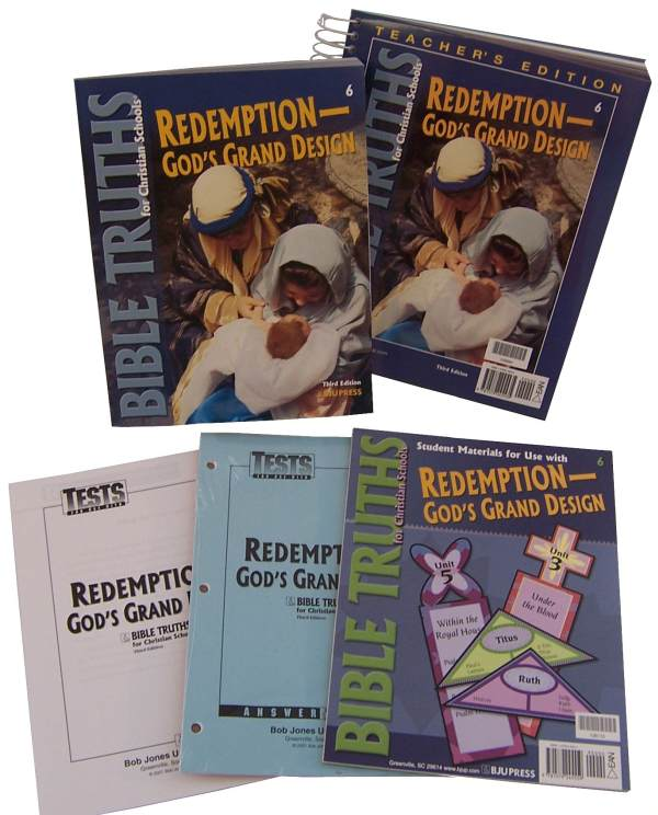 Bible Truths 6 Home School Kit 3ED