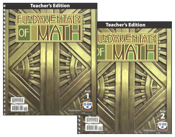 Fundamentals of Math Teacher's Edition Book & CD 2nd Edition