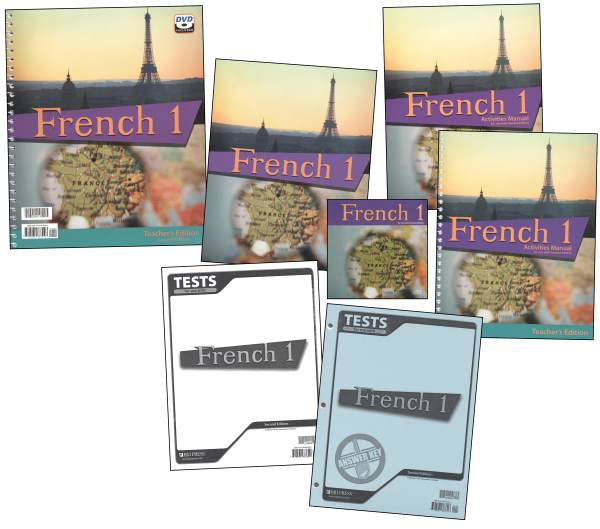 French 1 Homeschool Kit 2ED