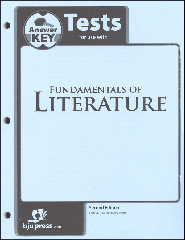 Fundamentals of Literature Test Key 2nd Edition