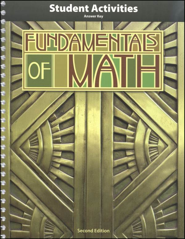 Fundamentals of Math Teacher Activity Manual 2nd Edition