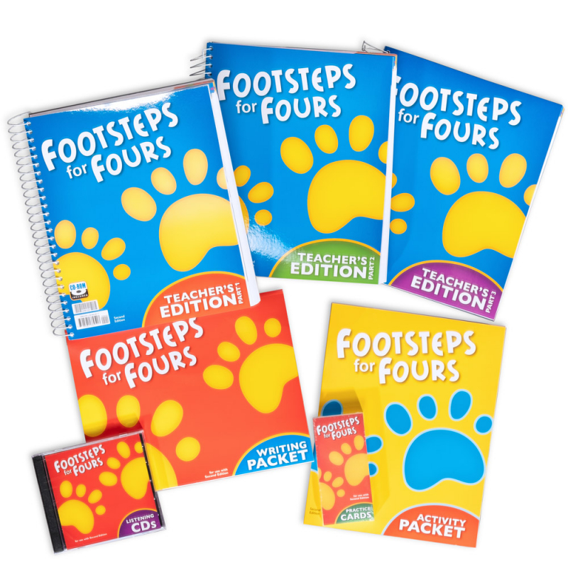 Footsteps K4 Home School Kit 2ED