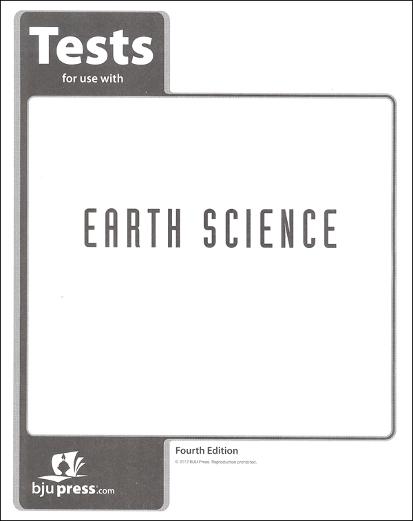 Earth Science Tests 4th Edition