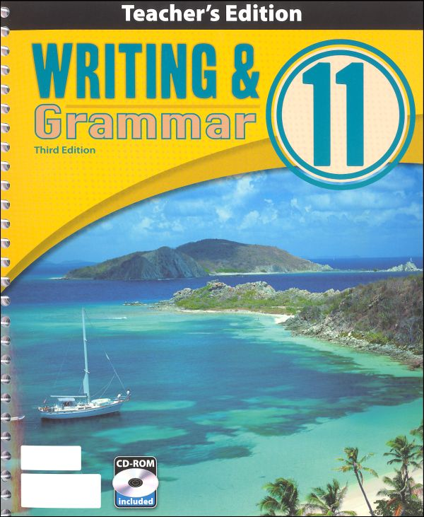 Writing/Grammar 11 Teacher Book & CD 3rd Edition