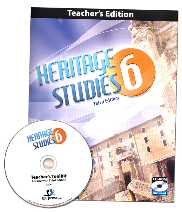 Heritage Studies 6 Teacher (book & cd) 3rd Edition