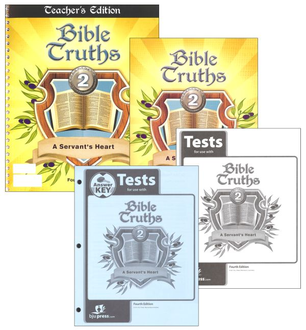 Bible Truths 2 Home School Kit 4ED