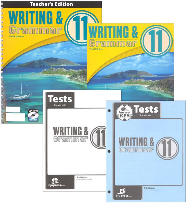 Writing/Grammar 11 Home School Kit 3ED