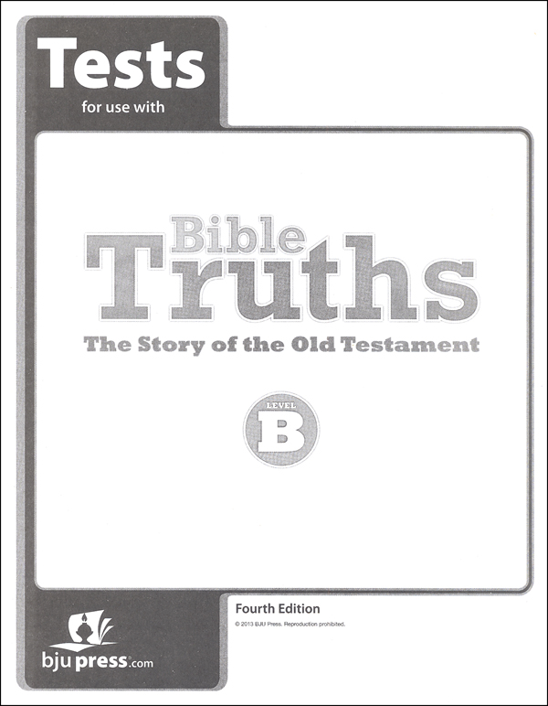 Bible Truths B Tests 4th Edition