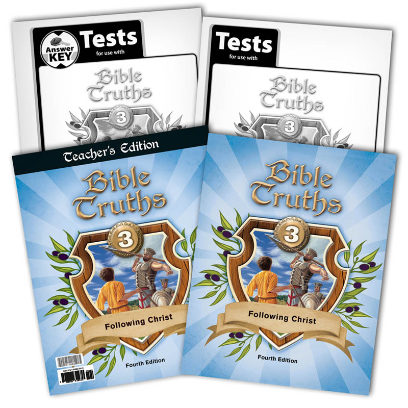 Bible Truths 3 Home School Kit 4th Edition