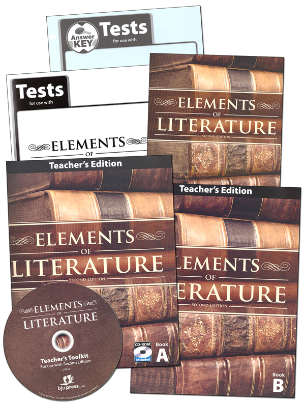 Elements of Literature Home School Kit 2nd Edition