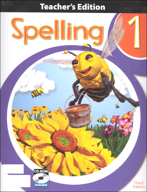 Spelling 1 Teacher Edition Book & CD 3rd Edition