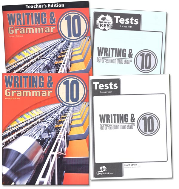 Writing/Grammar 10 Home School Kit 4th Edition