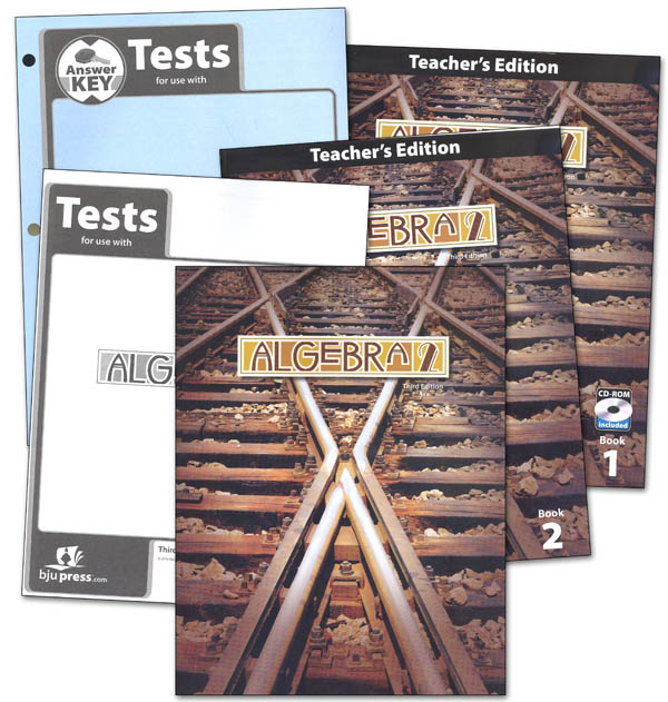 Algebra 2 Home School Kit 3rd Edition