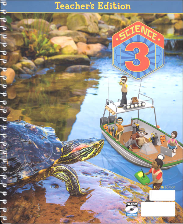 Science 3 Home School Teacher Edition Book & CD 4th Edition