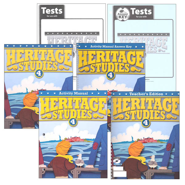 Heritage Studies 4 Home School Kit 3rd Edition (updated)