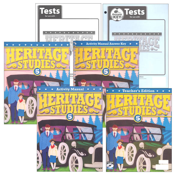 Heritage Studies 5 Home School Kit 4th Edition (updated)