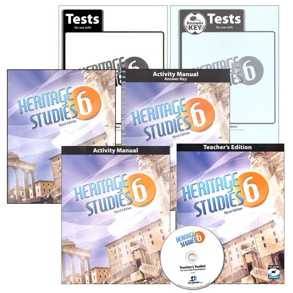 Heritage Studies 6 Home School Kit 3rd Edition (updated)