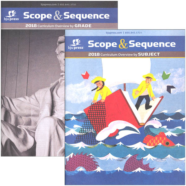 Scope & Sequence 2018 Curriculum Overview