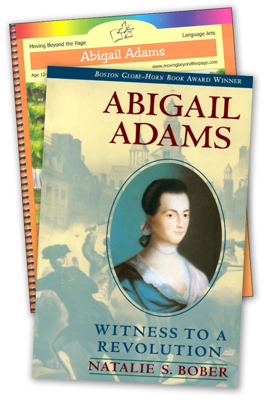 Abigail Adams Literature Unit Package