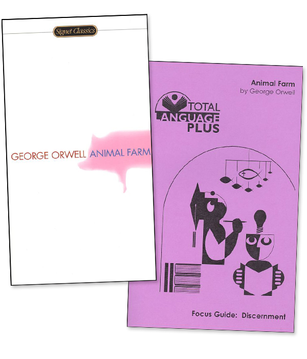 Animal Farm Total Language Plus Guide and Book