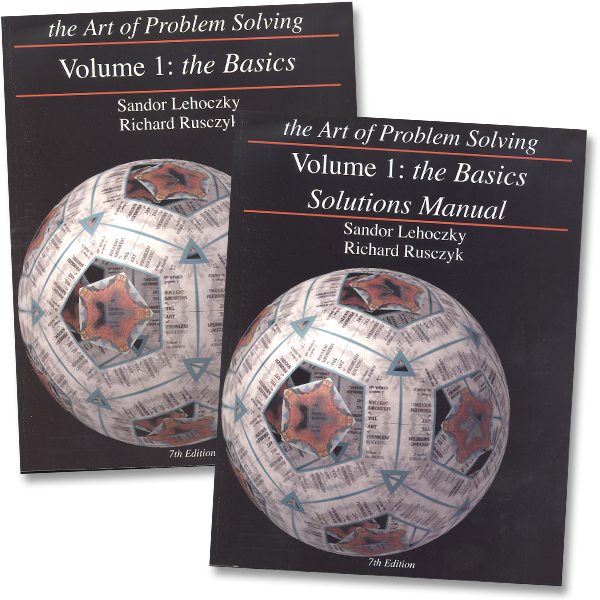 Art of Problem Solving Vol 1 Texts & Solutions