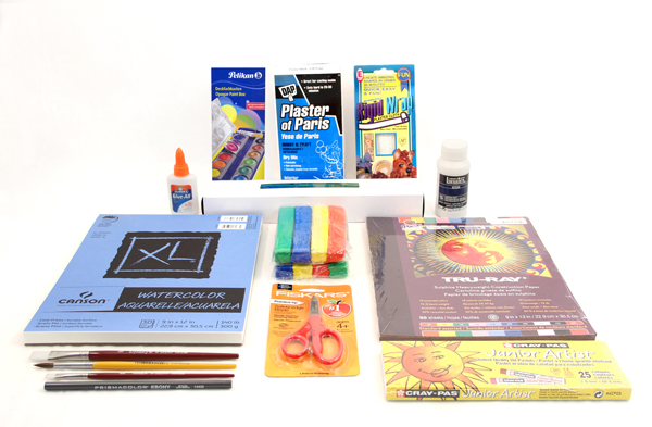 Artistic Pursuits Grades K-3 Book 3 (3rd Edition) Art Supply Bundle