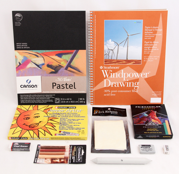 Artistic Pursuits Middle School Book 2 (3rd Edition) Art Supply Bundle