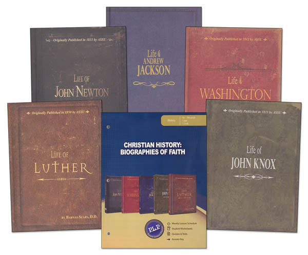 Christian History: Biographies of Faith Package