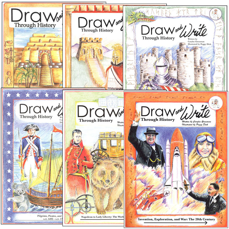 Draw & Write Through History Complete Set
