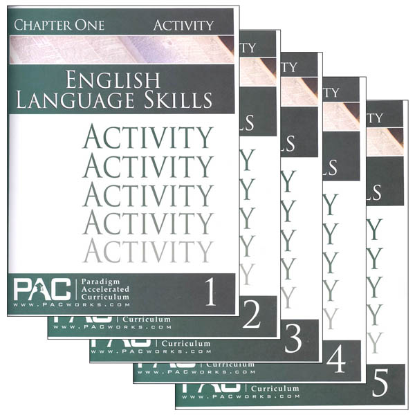 English I: Language Skills Activities Package (Chapters 1-5)