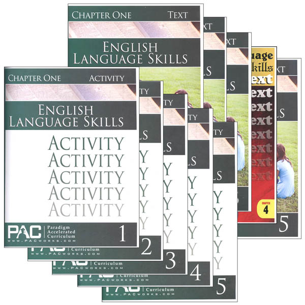 English I: Language Skills Text & Activities Package (Chapters 1-5)