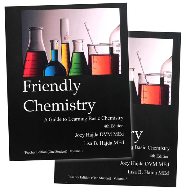 Friendly Chemistry Homeschool Teacher Set