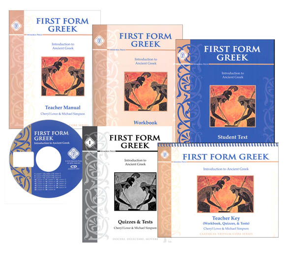First Form Greek Text Set