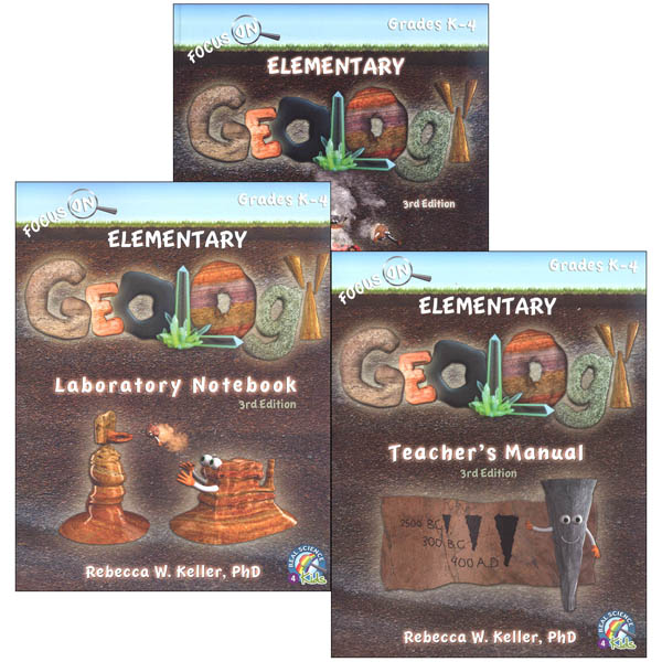 Focus on Geology Elementary Package (hardcover)
