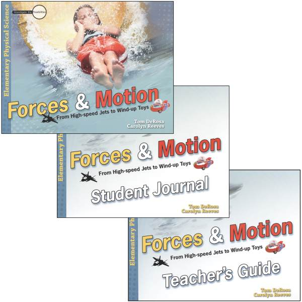 Forces & Motion: From High-Speed Jets to Wind-Up Toys Package