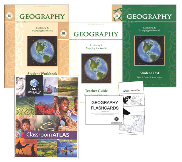 Memoria Press Geography III Complete Set