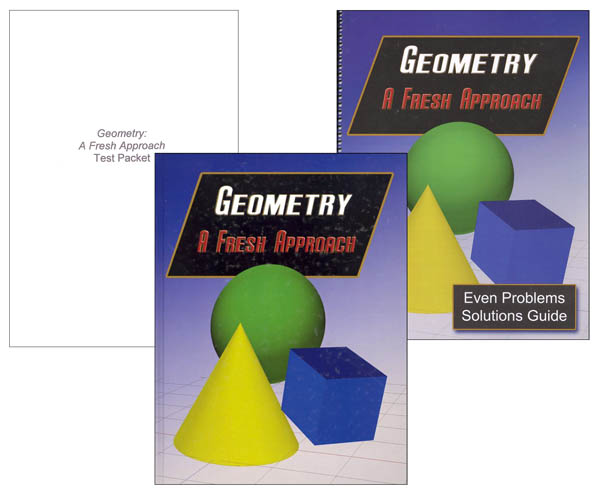 Geometry: A Fresh Approach Set