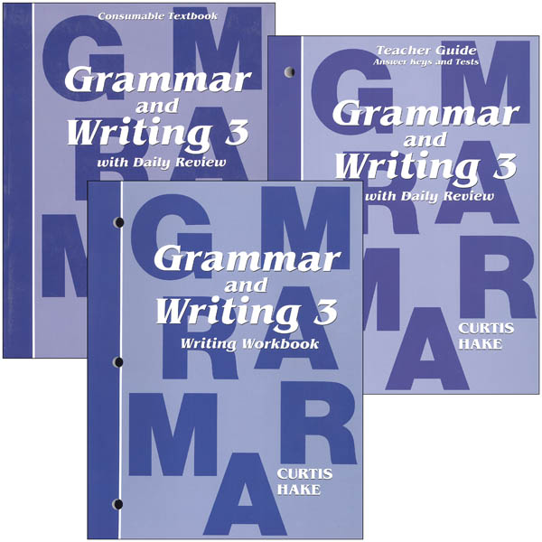 Grammar and Writing 3rd Grade Homeschool Kit