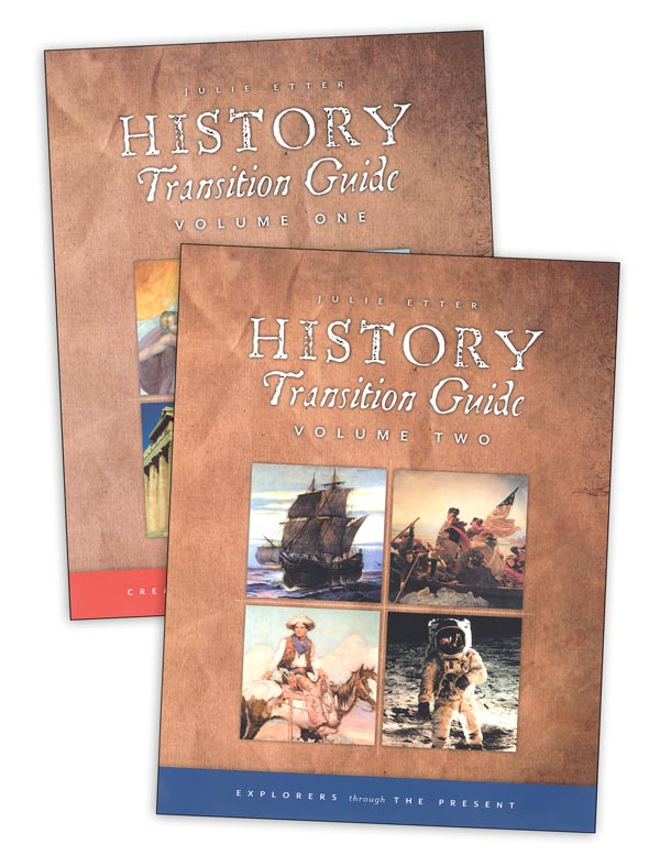 History Transition Guides Volume 1 and 2 Set