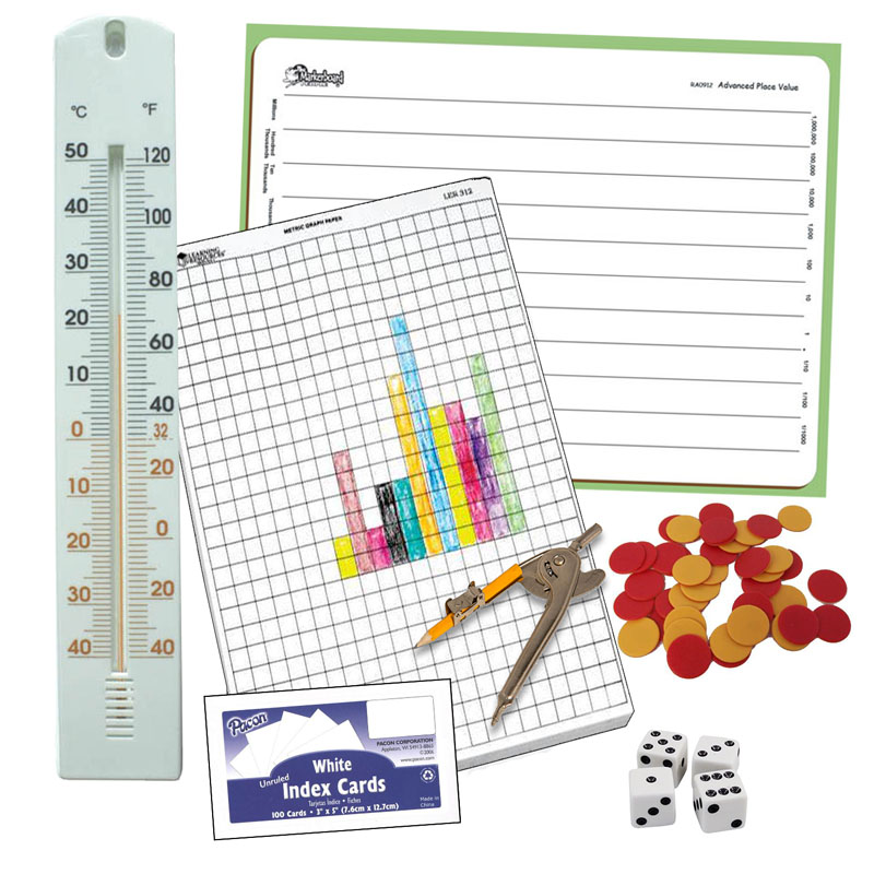 Horizons Grade 3-4 Add-On Manipulative Kit