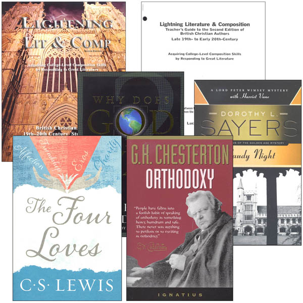 Lightning Literature & Composition British Christian Lit Package