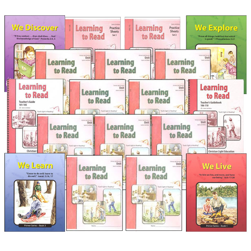 Learning to Read Complete Set Sunrise 2nd Edition