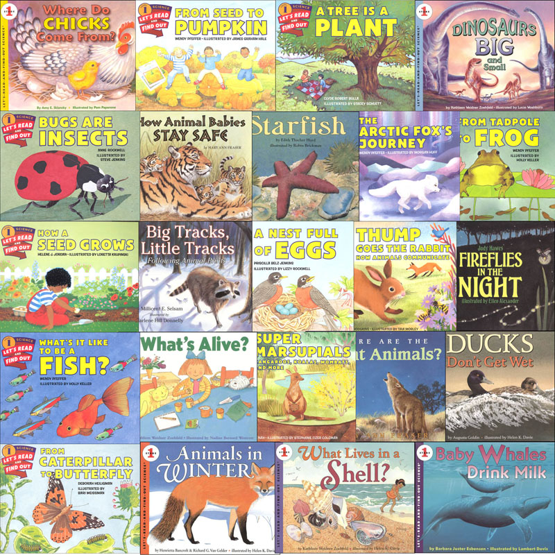 Let's Read and Find Out Science Level 1 - Plants and Animals Package