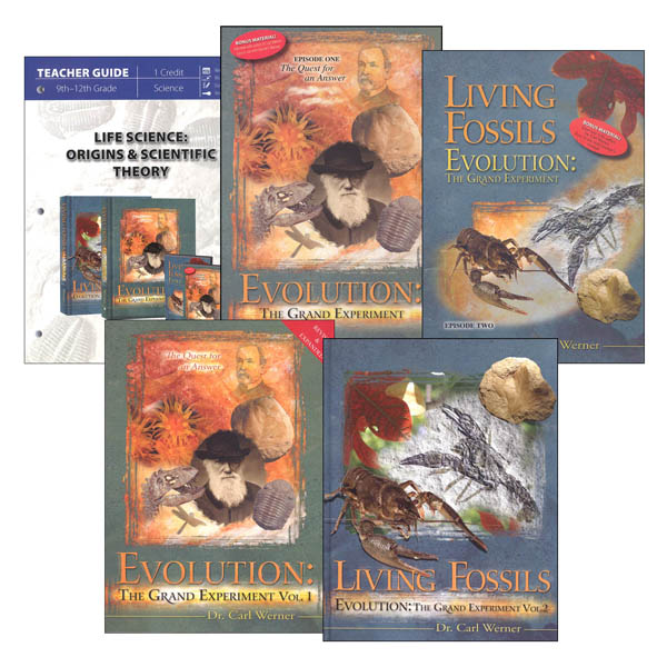 Life Science: Origins & Scientific Theory Package
