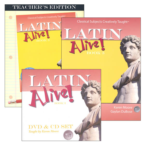 Latin Alive! Book 3 Bundle