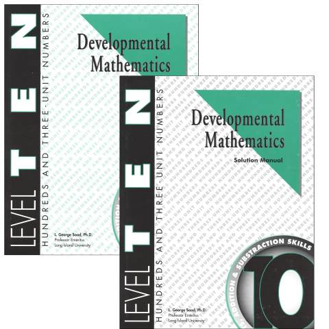 Developmental Math Level 10 Teacher & Student