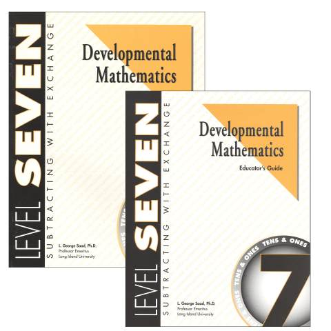 Developmental Math Level 7 Teacher & Student